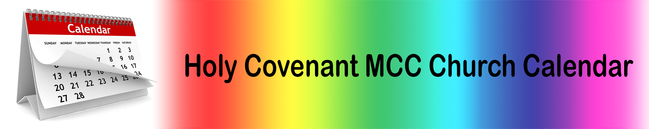 Holy Covenant Event Calendar